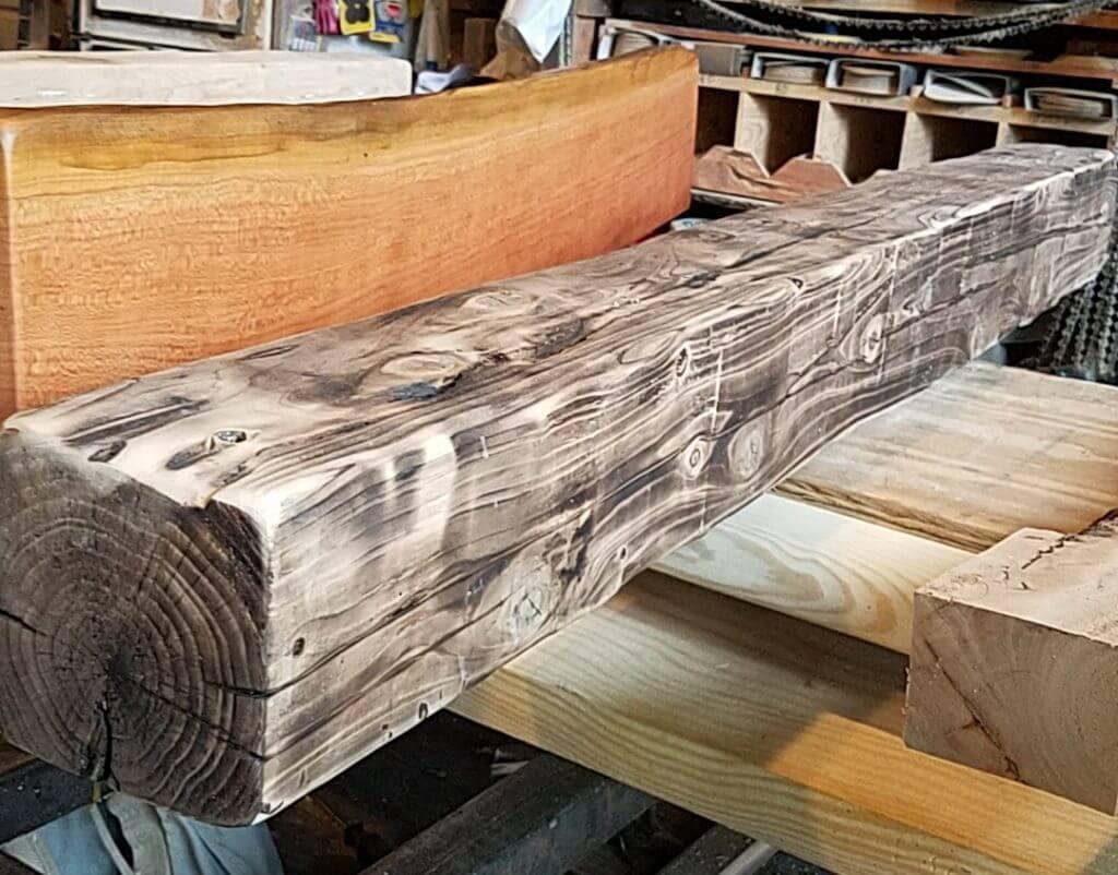 Large Handhewn beam