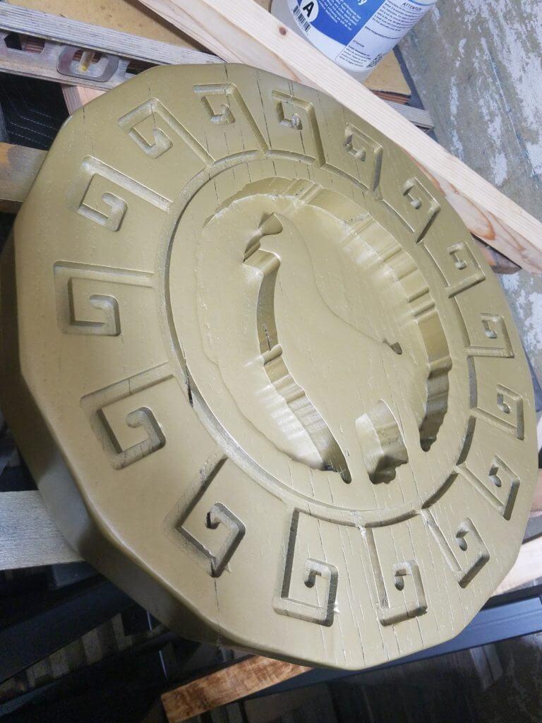 Custom cnc carving